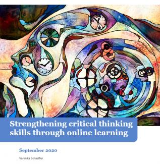 Critical thinking paper cover image.