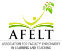 Association for Faculty Enrichment in Learning and Teaching logo.