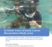 Cover picture for Voices of Early-Career Researchers report.