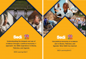 SEDI learning brief cover pictures.